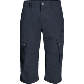 Jack Wolfskin Desert Valley Pantalon 3/4 Homme, night blue
